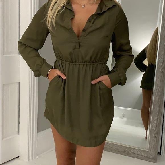 Tobi Dresses & Skirts - Olive green dress